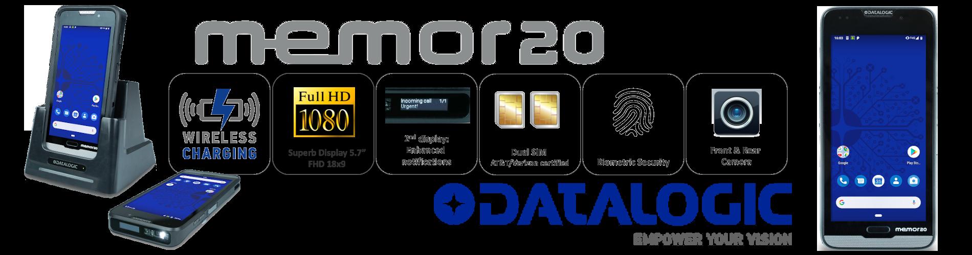 Datalogic Memor20_banner